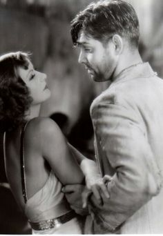 "Greta Garbo (September 18, 1905 - April 15, 1990) as Susan Lenox and Clark Gable (February 1, 1901 - November 16, 1960) as Rodney Spencer - ""Susan Lenox"" 1931 #actor #still"