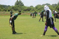 PHOTO: Cam Newton Playing Wide Receiver in Flag Football Tournament | FatManWriting