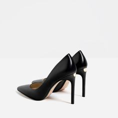 LEATHER HIGH HEEL SHOES-SHOES-WOMAN-COLLECTION SS/17 | ZARA United States