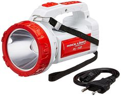 Product Details- Looking for rechargable torch, then you can buy Rock Light RL-140 5-Watt Rechargeable LED Torch. This LED torch is powered by ultra bright long range multipler chip LED. It has an increased discharge time due to dual function mode. Strong ABS body. It is water resistant and shock proof LED lights make it …