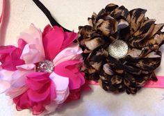 Choose 2 Big Full Flower Headband on Etsy, $14.00