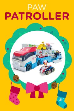 The PAW Patrol PAW Patroller is THE hottest toy this holiday season... and we're giving some away for free! Mark your calendars for the 12 Days of Nick Jr. Holiday Sweepstakes.