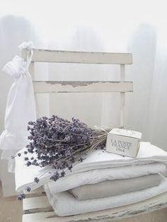 White and Shabby & lavender Lavender Cottage, French Lavender, White Cottage, Cottage Style, Lavender Blue, Lavender Fields, Lavender Flowers, Lavender Crafts, Lavender Decor