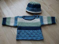 Ravelry: Striped Baby Set pattern by Sandi Prosser