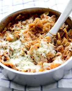 Might like this better with less sour cream.  Easy Lasagna Pasta Skillet - Ready in 20 minutes!