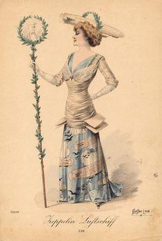"""""""Zeppelin"""" fancy dress costume"""