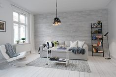 At Scandinavian Wallpaper & Decor we specialise in modern wallpapers and murals. Really Cool Wallpapers, Concrete Light, Concrete Stone, Scandinavian Wallpaper, Wallpaper Decor, Textured Wallpaper, Contemporary Interior, Wall Design, Decorating Your Home