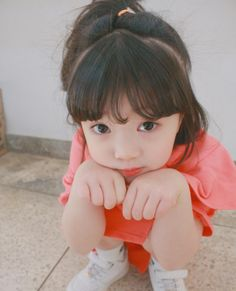BTS preferences and reactions - Your kids (Maknae line) Cute Asian Babies, Korean Babies, Asian Kids, Cute Babies, Cute Little Baby, Cute Baby Girl, Little Babies, Little Girls, Kids Girls