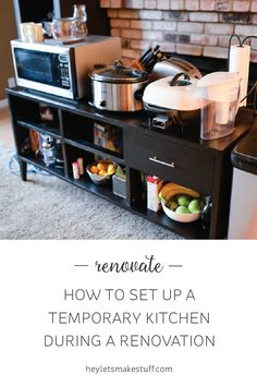 Find out the small appliances to include in your temporary kitchen during a  remodel. | VillageHomeStores.com | Pinterest
