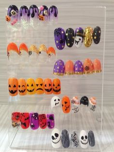 Halloween Nail Designs, Halloween Nail Art, Fall Nail Designs, Holiday Nail Art, Fall Nail Art, Luv Nails, Swag Nails, Witchy Nails, Fall Manicure