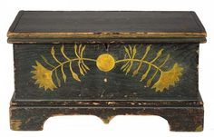 New England Blanket Chest c.1800-1820