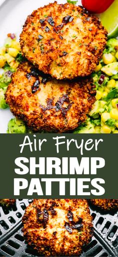 Super easy air fryer shrimp recipe - spicy shrimp patties with incredible flavor. Super easy air fryer shrimp recipe - spicy shrimp patties with incredible flavor. Mexican Shrimp Recipes, Grilled Shrimp Recipes, Shrimp Recipes For Dinner, Seafood Dinner, Spicy Recipes, Easy Dinner Recipes, Seafood Recipes, Easy Recipes, Dinner Ideas