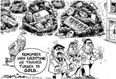 Losing it - Zapiro Jacob Zuma, Lost, African, Cartoons, Prints, Cartoon, Cartoon Movies, Comics And Cartoons, Comic Books
