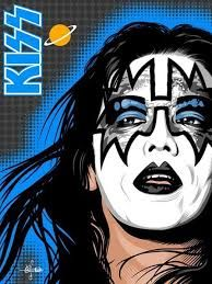 Find this Pin and more on Ace Frehley. I Love It Loud, Kiss Me Love, Paul Stanley, Gene Simmons, Rock Posters, Concert Posters, Eric Singer, Banda Kiss, Eric Carr