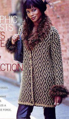 Великолепное пальто из Вог. Обсуждение на LiveInternet - Российский Сервис Онлайн-Дневников