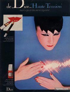 Christian Dior (Cosmetics) 1976 Lipstick, Nail Polish