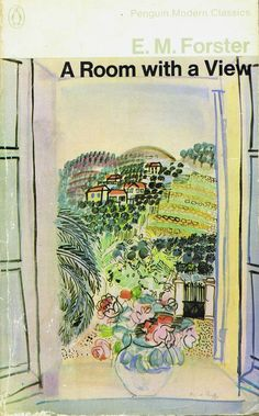 A Room with a View - Book Cover Art by Raoul Dufy
