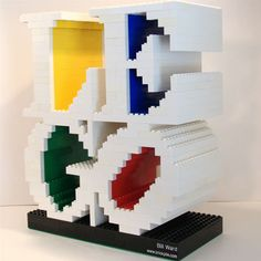 Lego fonts. Like the block effect an inner colour