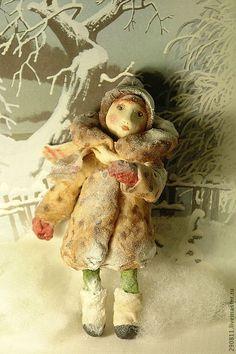 Мастер класс елочной игрушки из ваты