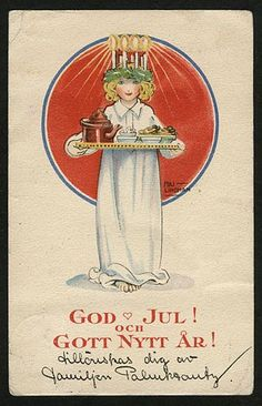 Every year I look forward to December 13 - St. Lucia Day. Probably because my ancestral heritage is half Swedish, her day is extra speci...