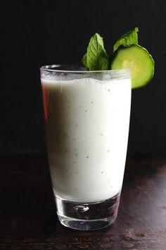 Cucumber Doogh: Afghan Yogurt Drink My friend always says I must try it, so I'll experiment soon! haha