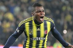 Former Super Eagles striker, Emmanuel Emenike, has been included among the top 40 earners in the Turkish top flight. The Nigerian is named the third highest-paid African. Content Management System, Website Design, Soccer Players, Design Development, Muslim, Designer, Motorcycle Jacket, Mac