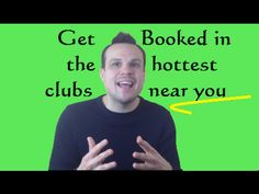 Cronicbeats presents: How to get booked for shows