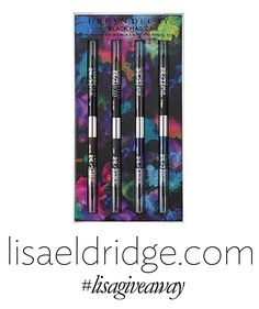 Urban Decay - Black Magic 24/7 Glide-On Double-Ended Eye Pencil Set http://www.lisaeldridge.com/outbound/?link=26615&item=26613&brand=11810