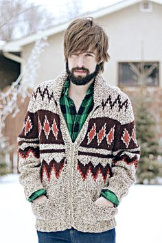 this sweater is rad!