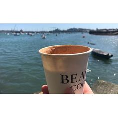 Thanks @beacon_coffee for the best coffee in the perfect location. We certainly know how to do coffee in #falmouth #lovefalmouth