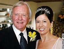 Anthony Hopkins and Stella Arroyave married in 2003