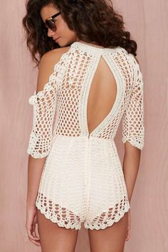 Alice McCall Hocus Pocus Crochet Romper - Rompers + Jumpsuits | Best Sellers | Alice McCall | Clothes | All