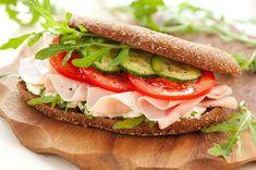 Recipe right sandwich