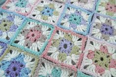 Suz Place: CROCHET: Square in a Square in a Square Granny Square, free crochet pattern