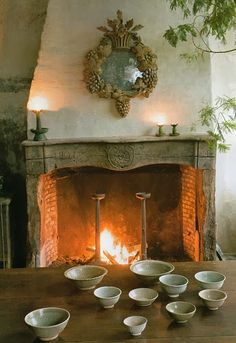 The Comfort Of A Fireplace