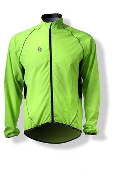 Spakct Ciclismo Rompevientos Chubasqueros -Apple 2 Verde (3XL)