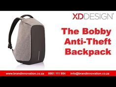 Bobby Anti-Theft Backpack South Africa, XD Design Backpack, Brand Innovation