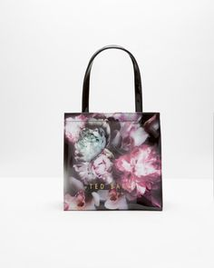 Ethereal Posie small shopper bag - Black | Bags | Ted Baker