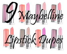 9 Maybelline Lipstick Dupes! | Lipstick Dupe