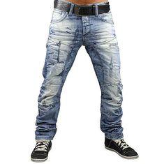 CIPO & BAXX Jeans C 967 W29 38 L32+34 hellblau Hose Herren Club Style