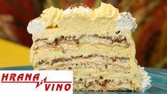 Ljubavno gnezdo | Hrana i Vino SR - YouTube Let Them Eat Cake, Vanilla Cake, Chocolate Cake, Cravings, Cooking Recipes, Cakes, Youtube, Desserts, Decoration