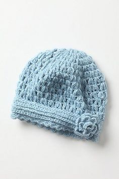 I fell in love with this hat from Anthropologie, and knew I could recreate something similar.   It's no longer available for sale. But, whe...