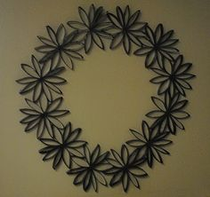 Toliet Paper Roll Wreath!!!