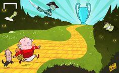 Aún falta mucho en el camino de la #ChampionsLeague para el #MUFC y #Rooney.