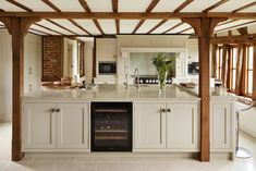 The Tillingham is a shaker style kitchen, crafted using the finest solid wood kitchen units, designed and manufactured by Davonport. Kitchen Units, Open Plan Kitchen, Kitchen Layout, New Kitchen, Kitchen Design, Kitchen Ideas, Kashmir White Granite, Shaker Style Kitchens, White Kitchens