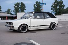 VW Volkswagen MK1, MK I, Golf 1 Cabrio, Golf 1, Rabbit, Retro