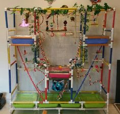 Customised giant playgym 1.6m x 1.5m.