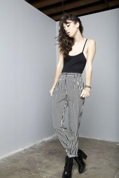 what-do-i-wear:    Trousers & Body Suit - AA / Boots - Zara (image:agogofashion)