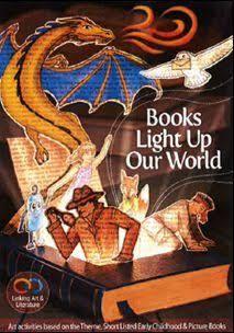 Resultado de imagem para books light up our world poster