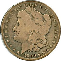 1893 S Morgan Dollars Dollar Good-4 PCGS ** You can get more details by clicking on the image.